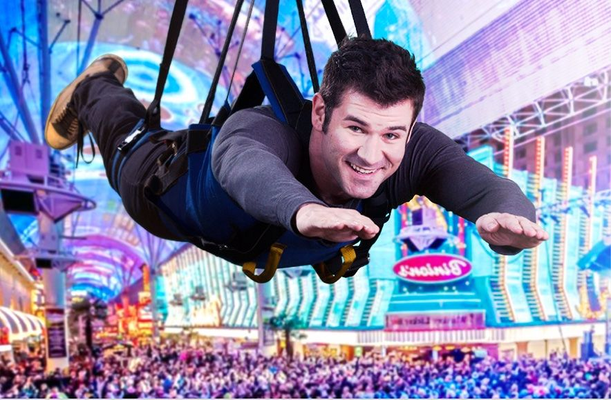 SlotZilla is a zip line attraction at Fremont Street Experience in downtown Las Vegas.SlotZilla, shaped like a giant slot machine, has two take-off levels.Riders take a thrilling ride down Fremont Street under the massive Viva Vision video screen, with free nightly shows/5(K).
