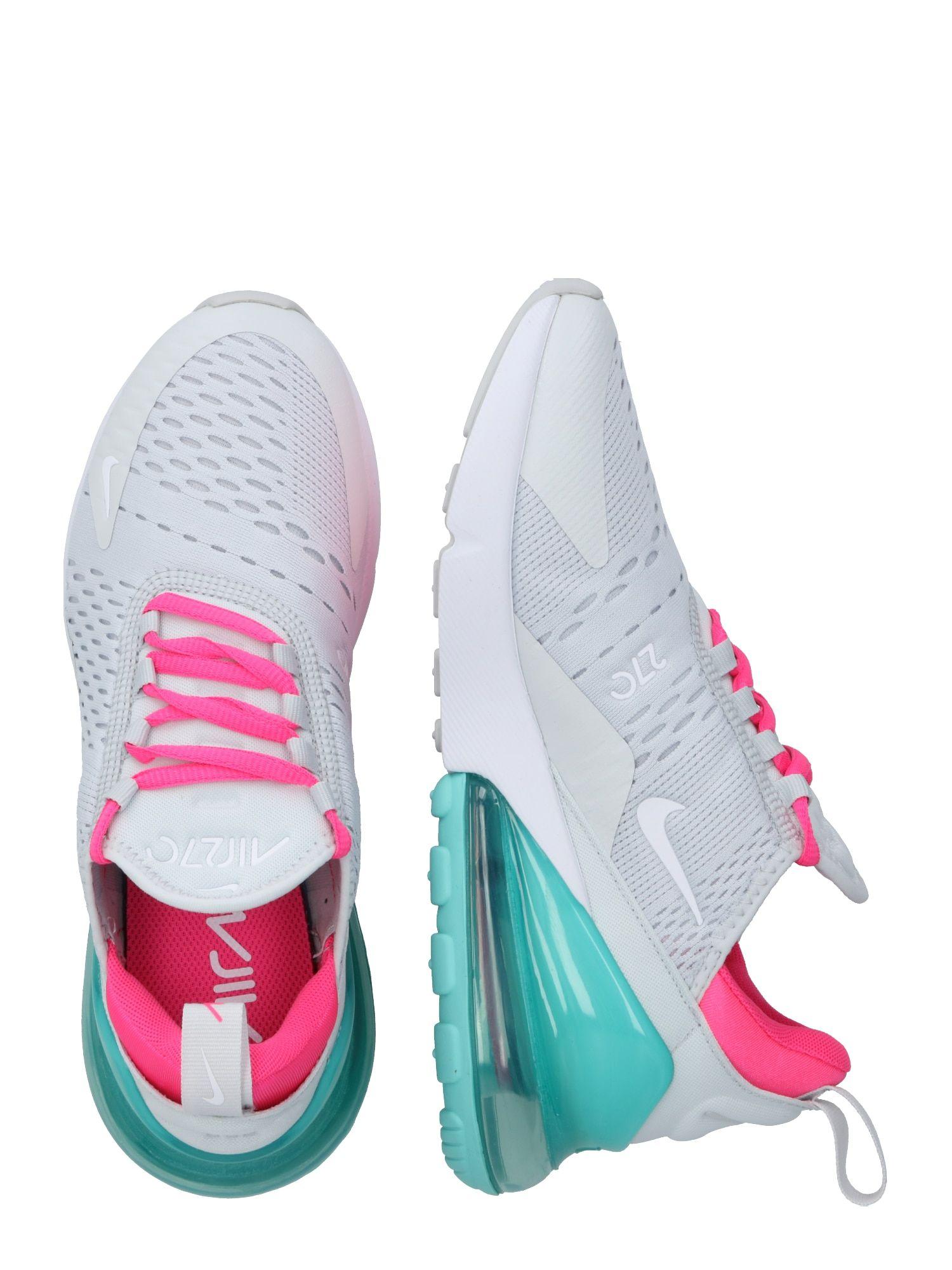 Nike Sportswear Sneaker Air Max 270 Damen Turkis Pink Weiss Grosse 40 5 Nike Sportswear Nike Und Damen
