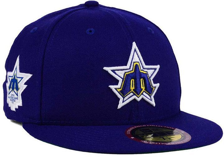 02fed431ff7 New Era Seattle Mariners Ultimate Patch All Star Collection 59FIFTY Fitted  Cap
