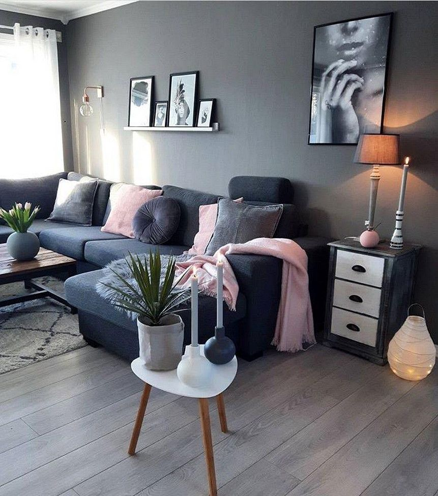 Cool 111 Fabulous Dark Grey Living Room Ideas To Inspire You Https Decorspace Net 111 Fabu Living Room Decor Apartment Living Room Grey Dark Grey Living Room