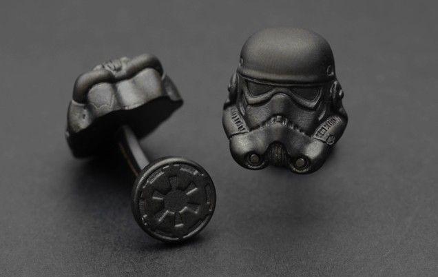 boutons de manchette star wars shadowtrooper geek cufflinks star wars et geek stuff. Black Bedroom Furniture Sets. Home Design Ideas