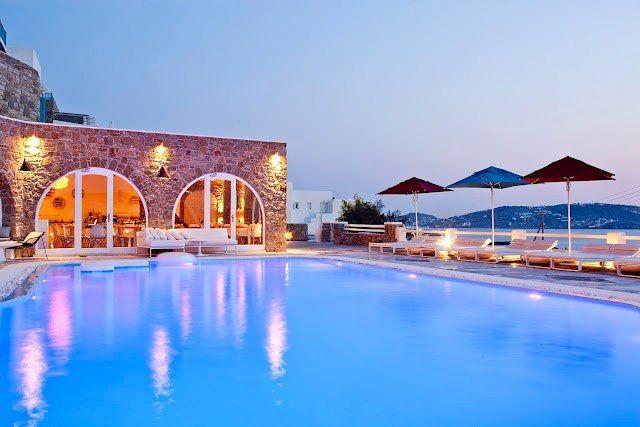 Kouros hotel Mikonos Greece