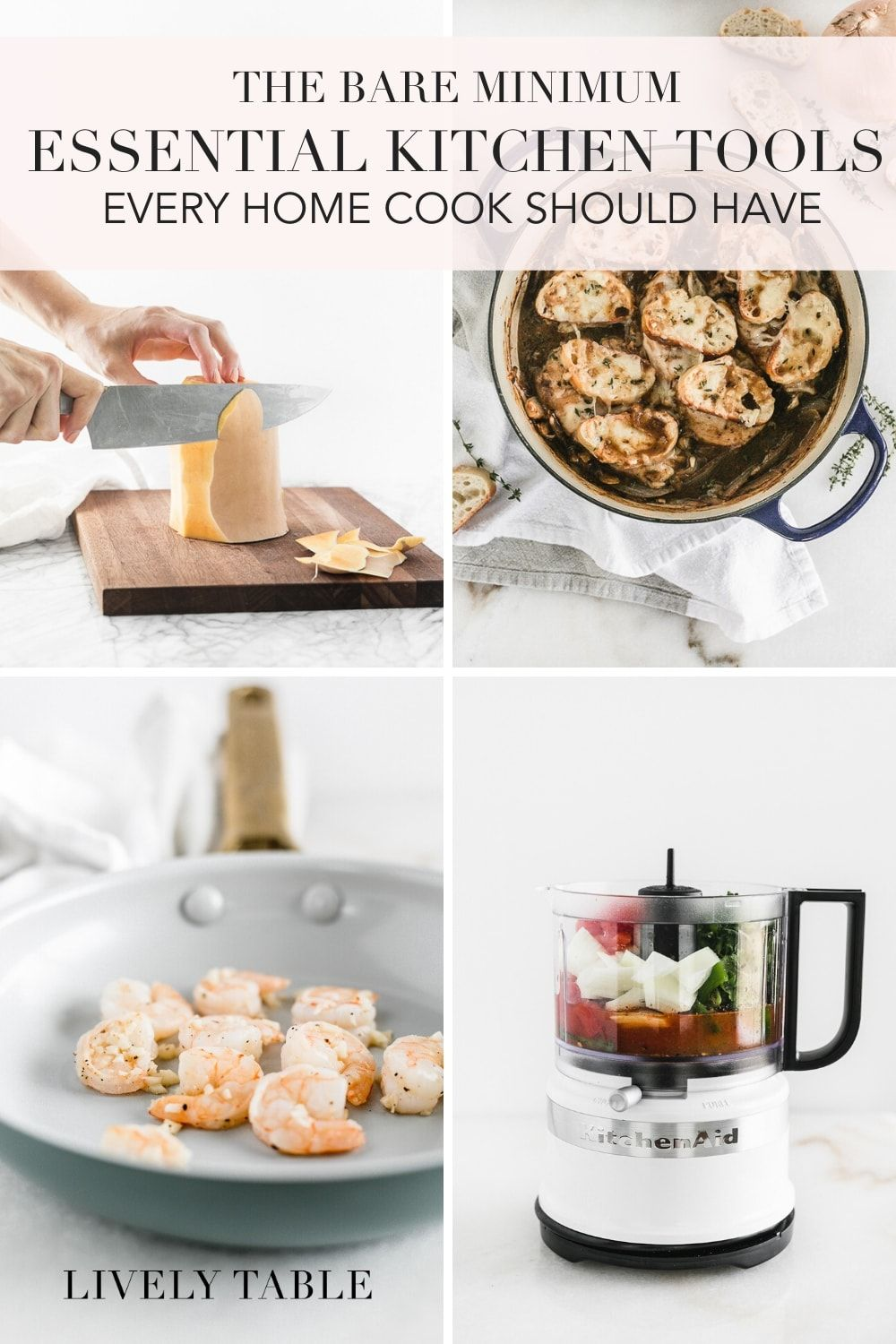 Essential Kitchen Tools Every Home Cook Should Own In 2020 Essential Kitchen Tools Cooking Non Toxic Cookware