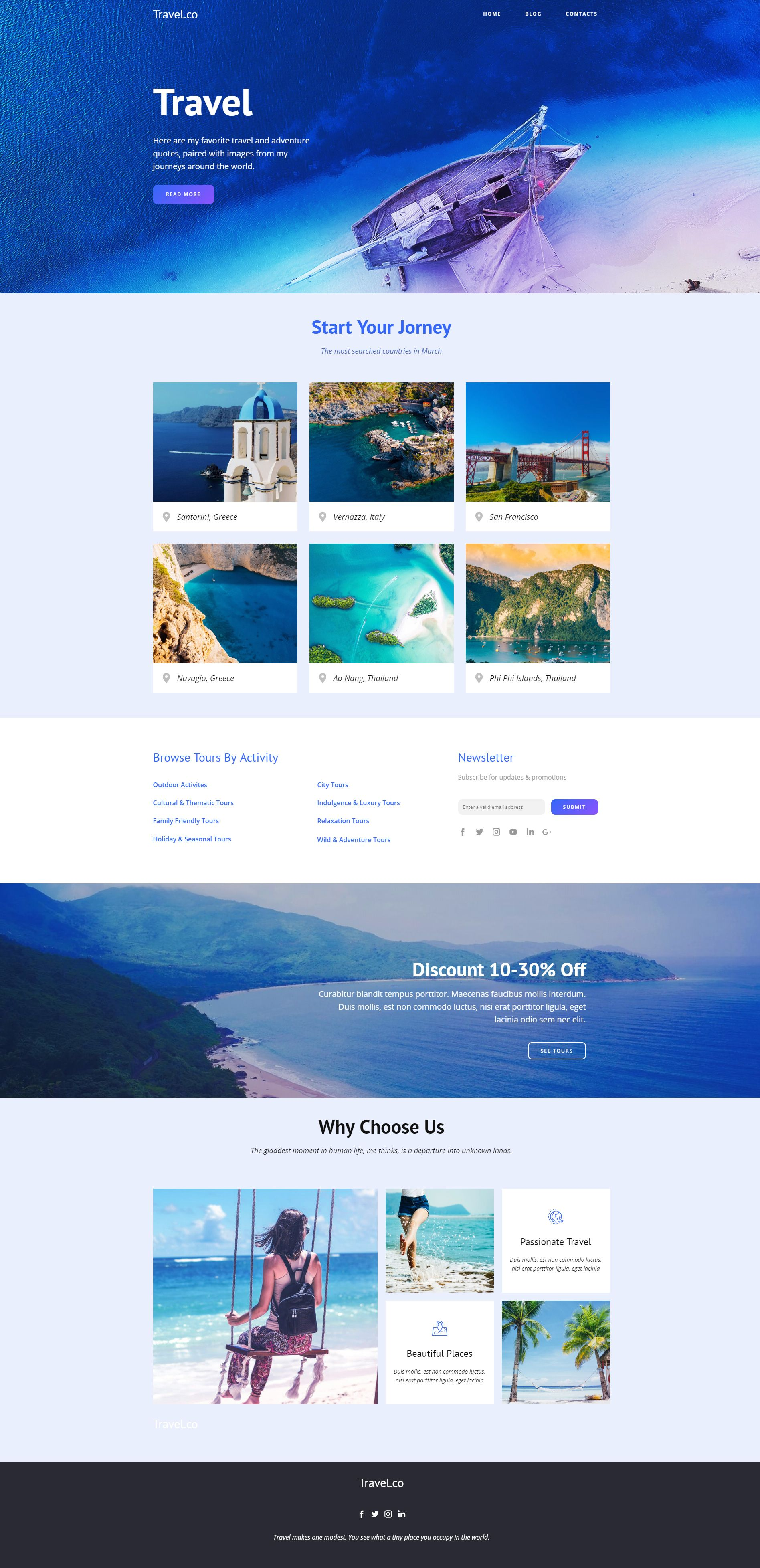 Nicepage Is A New Powerful Web Design Tool And An Easy To Use Builder For Your Websites Blogs And Themes D Travel Website Design Web Design Tools Web Design