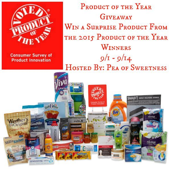 Product of the Year surprise product Giveaway (ends 9/14)