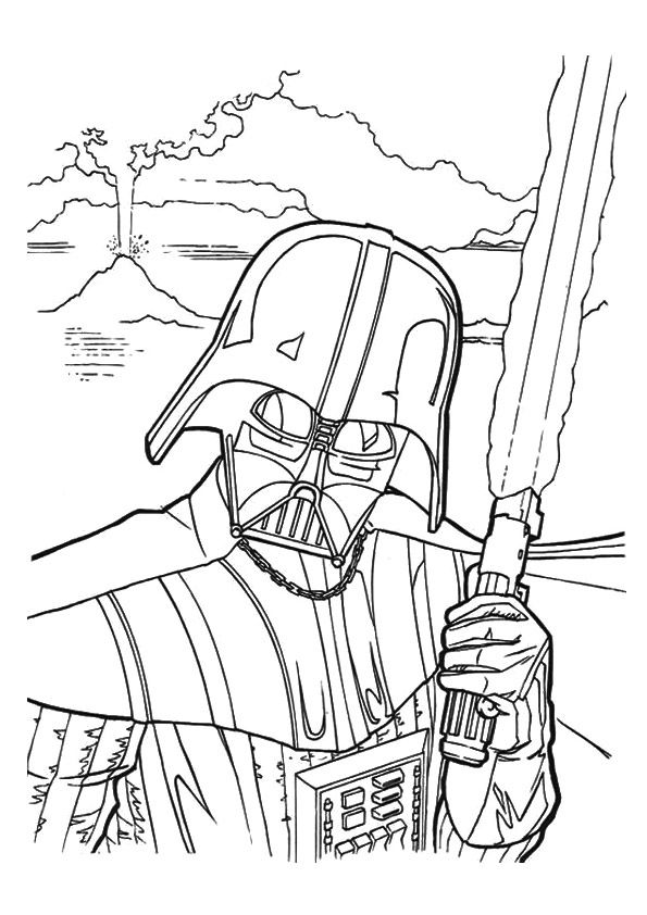 Print Coloring Image Momjunction Star Wars Coloring Book Star Wars Coloring Sheet Star Wars Colors