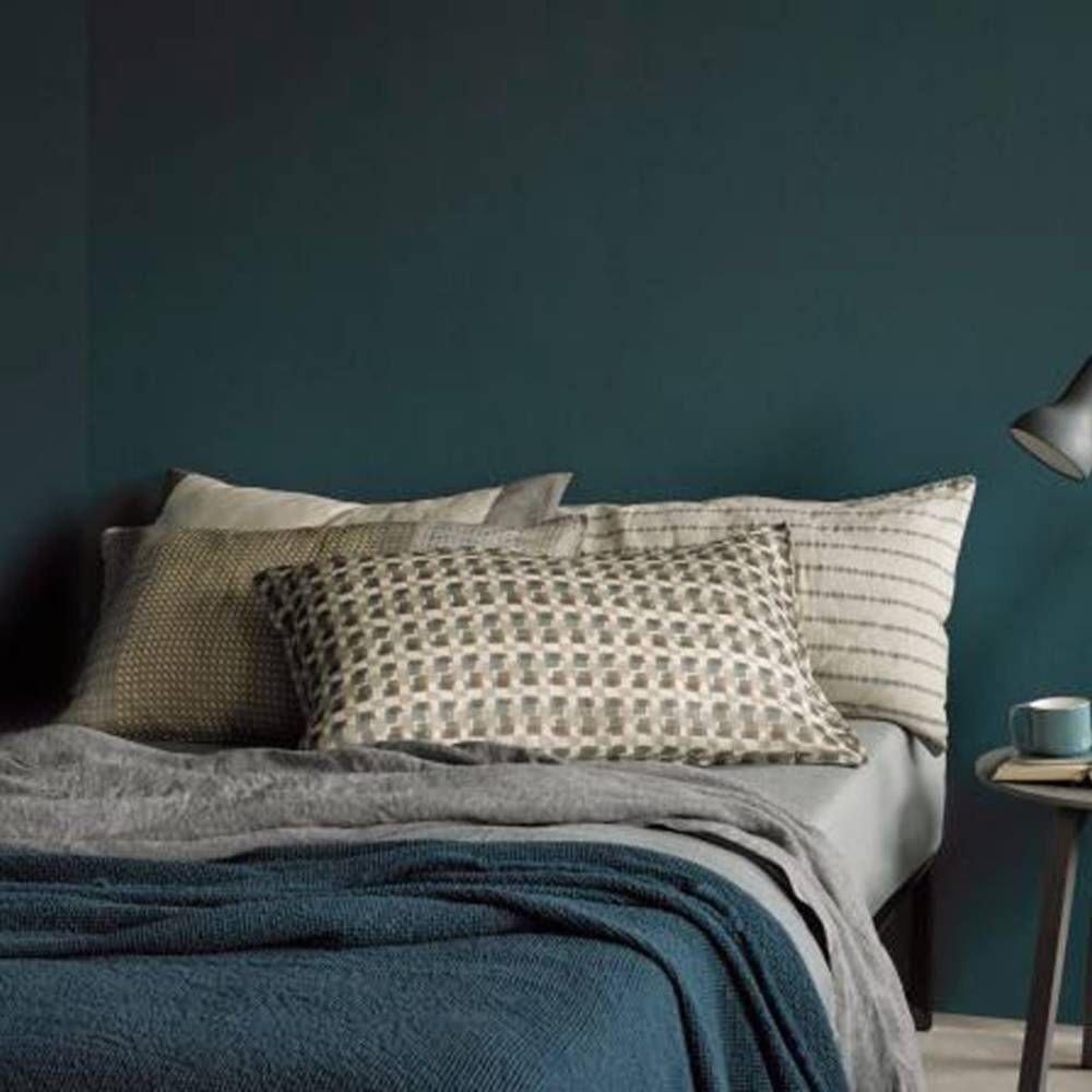 Chambre Vert Foncé Deco Bleu Pinterest