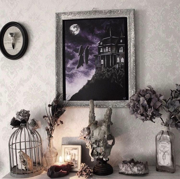 Hellarken (With images) Gothic decor, Witch room, Decor