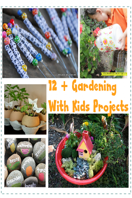 Pin By Babble On Kid Friendly Activities Gardening For Kids