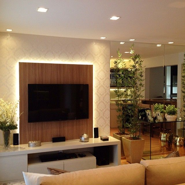 Sala Tv Home Theater ~ tv units racks architects home theater home decor living room paper
