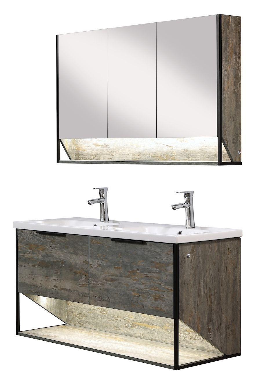 Miroir Salle De Bain 120 Cm meuble de salle de bain cali 120cm lavabo – armoire de