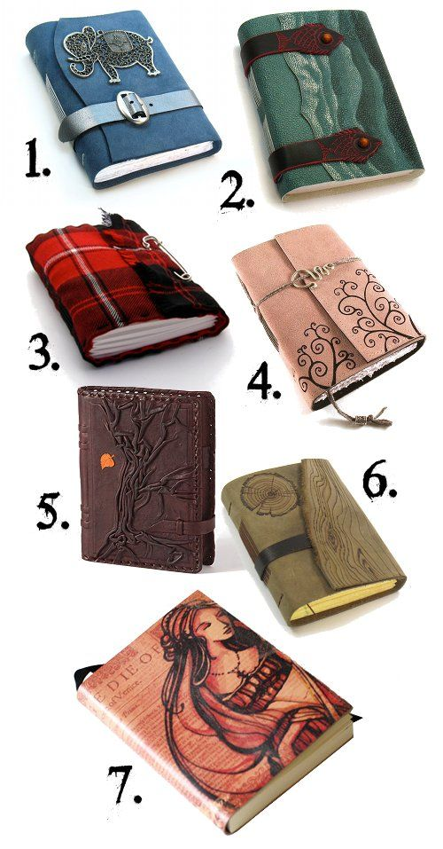 Paper Products Made Of Handmade Paper Postal Stamp Printed Cover Journal Notebook Diary Fancy Colours 4 Pcs