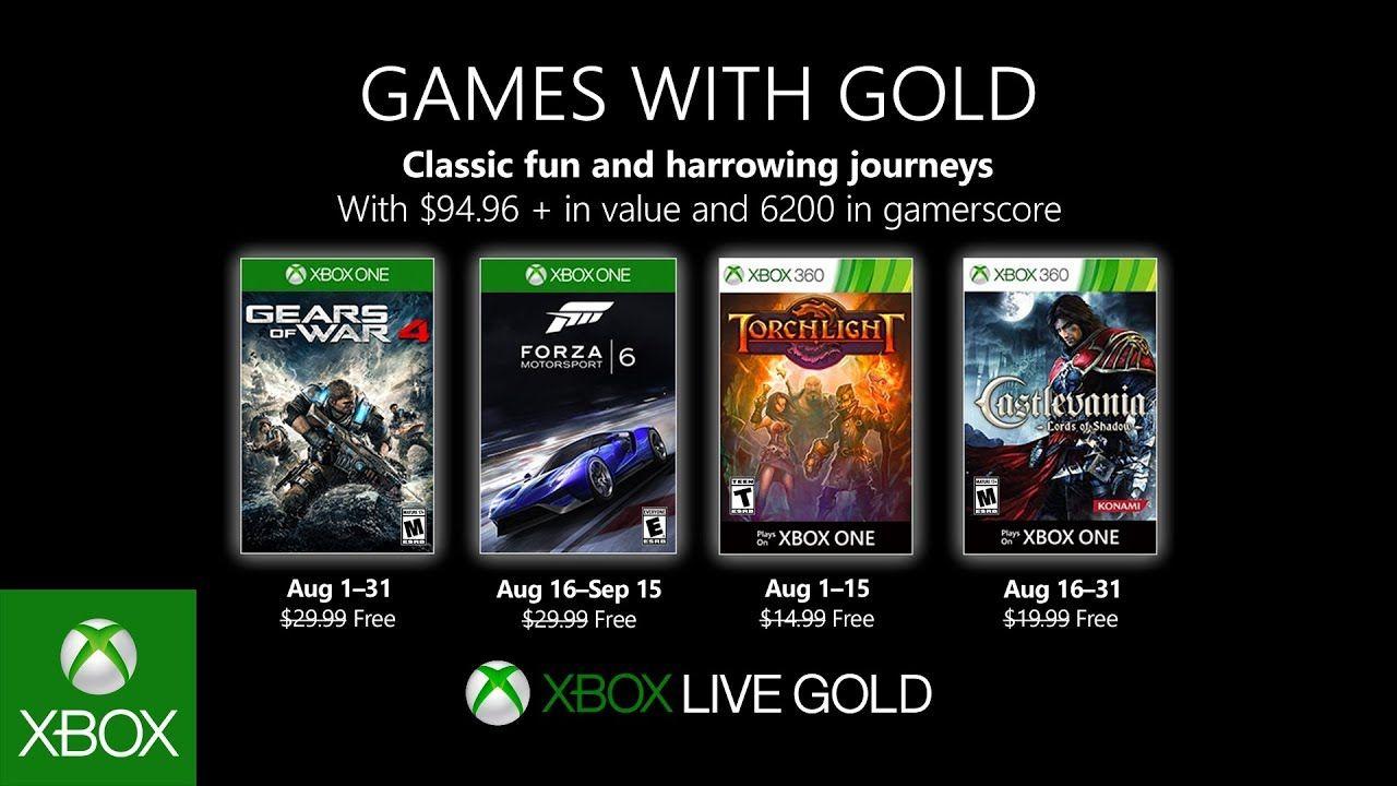 Xbox Muestra Su Alineación De Juegos Gratuitos Para El Mes De Agosto Https Degeneracionx Com 2019 07 Xbox Muestra Su Alineacion De Xbox Xbox One Juegos Xbox
