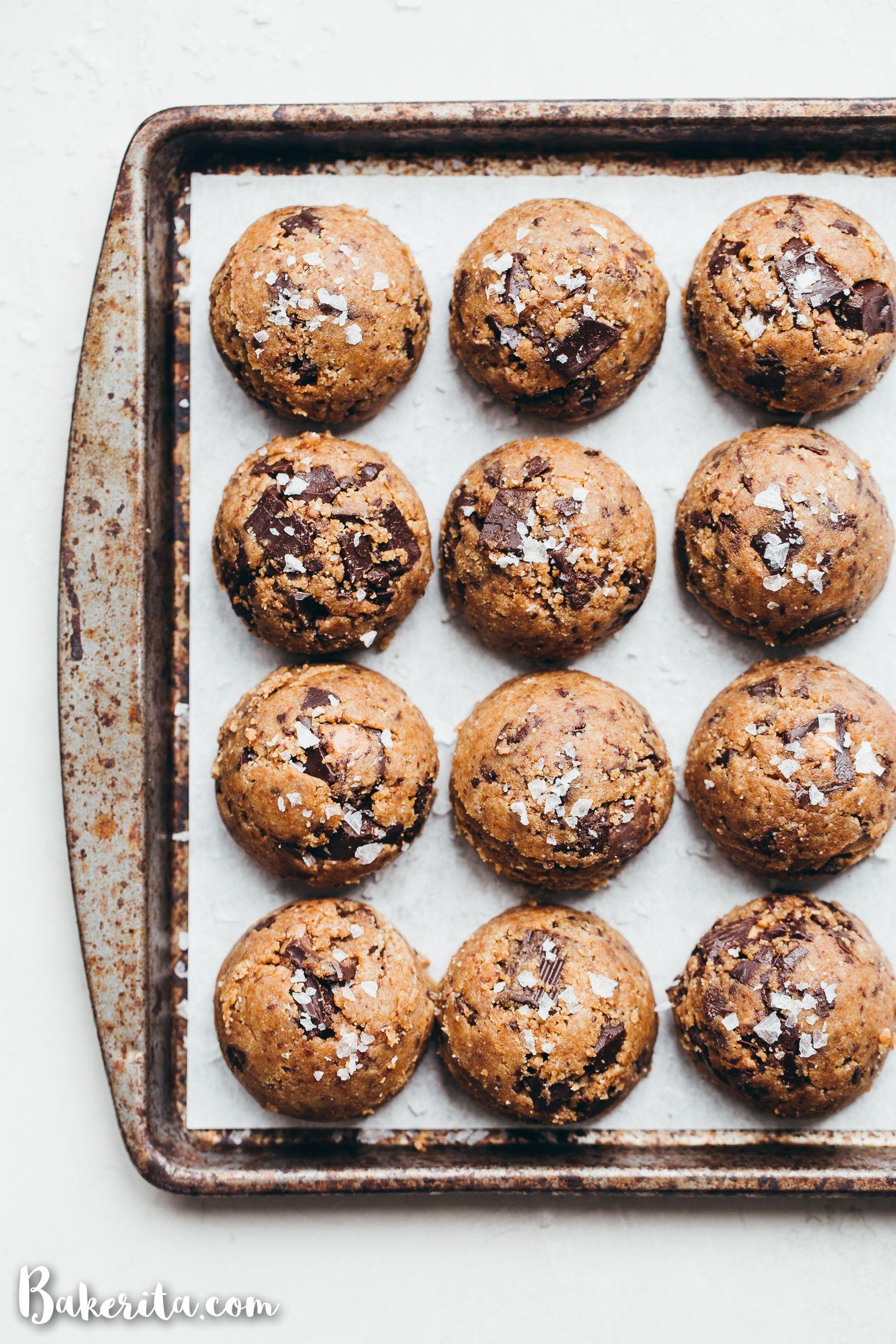Peanut Butter Chocolate Chip Cookies (Gluten Free & Vegan) • Bakerita