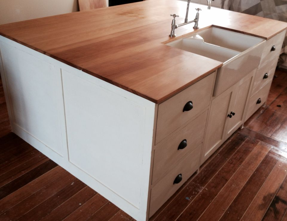 Reclaimed Kauri Pine Bench Top Made From An Old Wardrobe Kitchen Home Decor