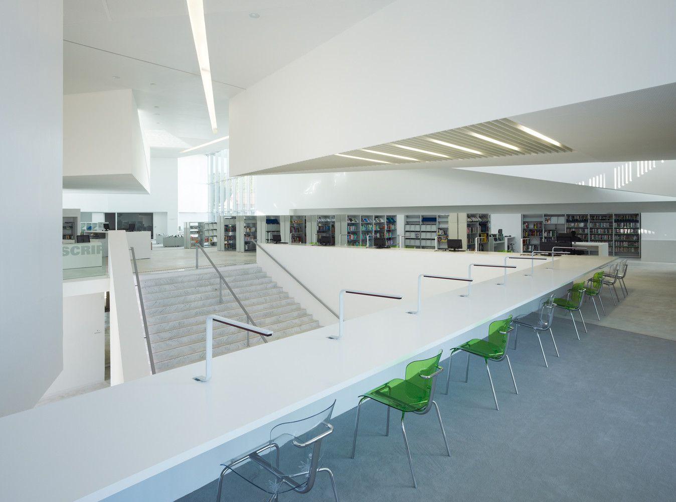 Galeria de Biblioteca em Anzin / Dominique Coulon & Associés - 24