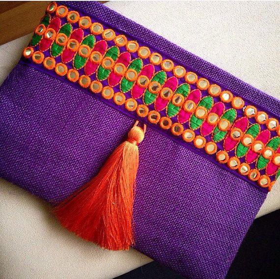 Bohemian Clutch, Boho Bag, Fashion Bag, Womens handbag ...
