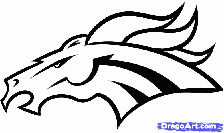Denver Broncos Coloring Page Best Of How To Draw The Denver Broncos Step By Step Sports Pop Culture Fre In 2020 Transformers Coloring Pages Coloring Pages Broncos Logo