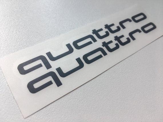 Acronym Emblem S Audi S Line Adhesive Logo