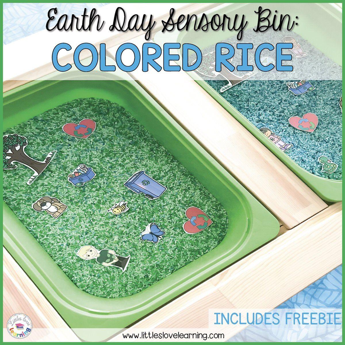 The Easiest Earth Day Sensory Bin For Preschoolers A