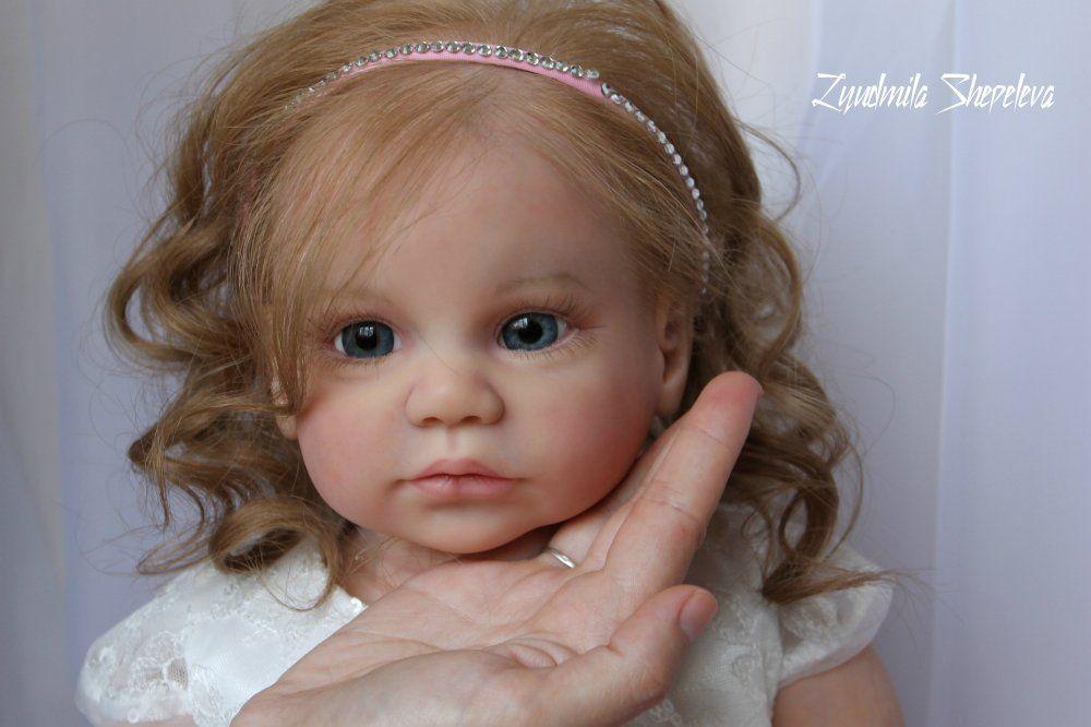 Reborn baby toddler, little girl Jennifer kit Gabriela by Regina Swialkowski   eBay