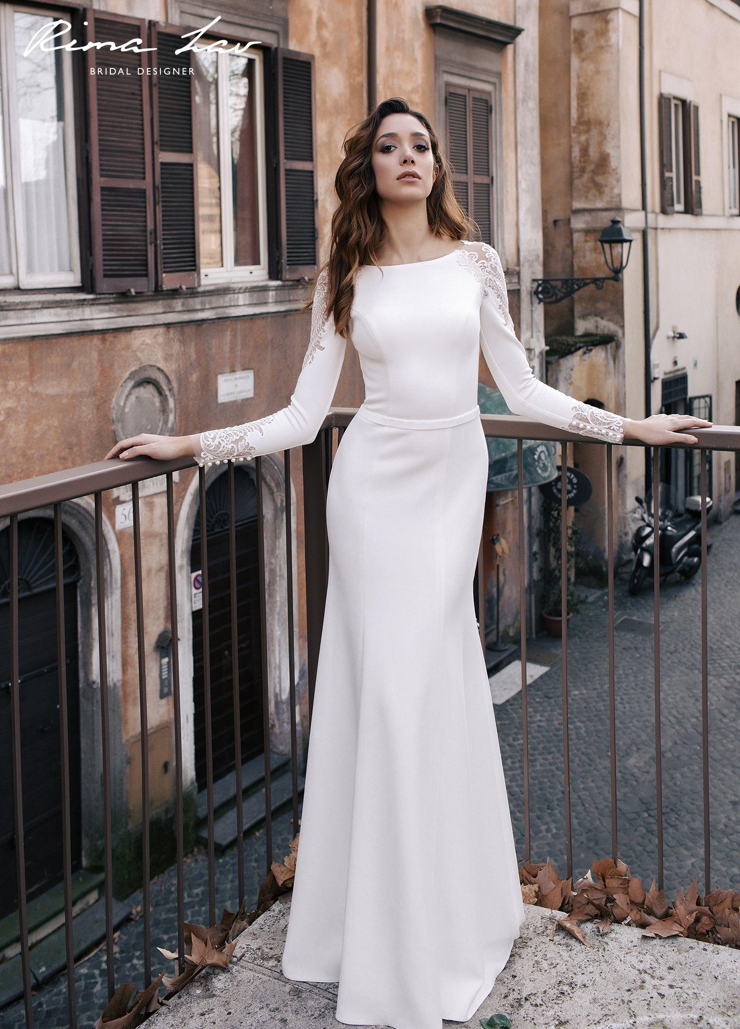 Rima Lav Wedding Dresses Evora Plain Wedding Dress Wedding Dresses Wedding Dresses Satin [ 2000 x 1440 Pixel ]