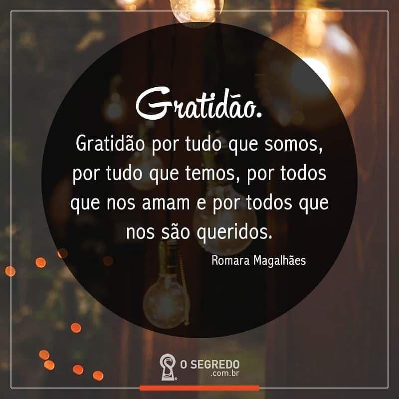 Gratidao Gratitude Agradecer Sergrato Sejagrato Osegredo