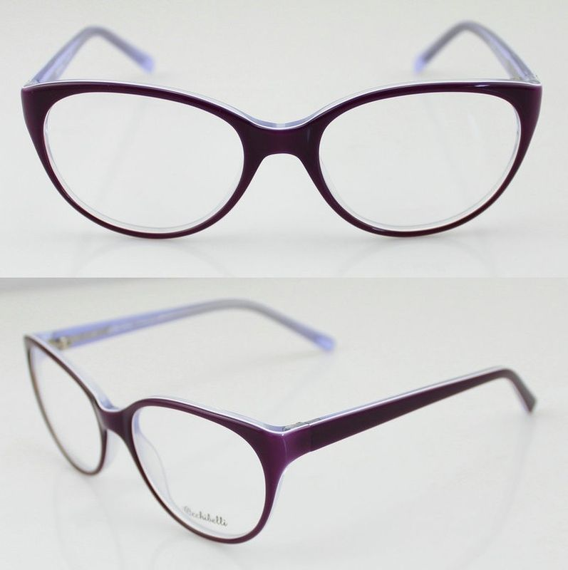 Eyeglasses Frames For Women   Oval Acetate Eyeglasses -9111