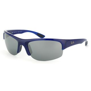 483fb56e980965 Ray-Ban Unisex  RB4173 Sport  Opal Blue Polarized Interchangable Sunglasses