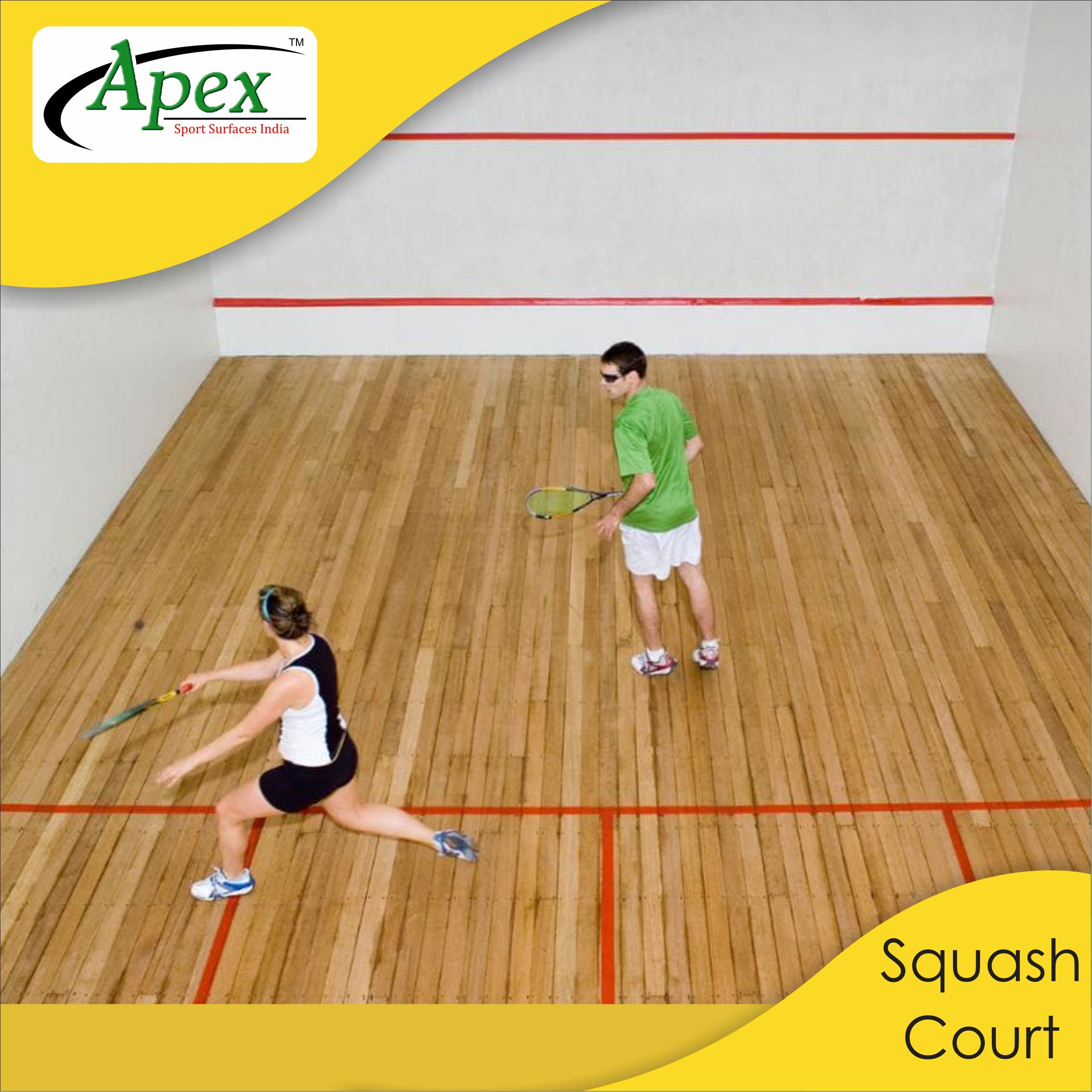Apex Sports Proudly Manufactures Squash Court Floorings With Excellent Shock Absorbency And Superb Traction For A Quick Change Court Flooring Fun Sports Sports