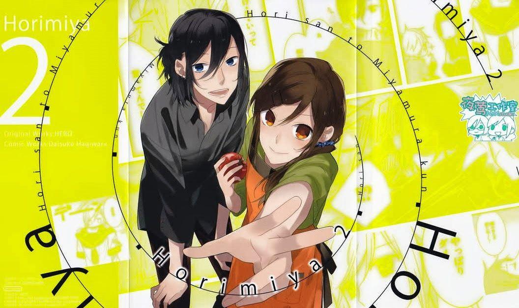 Horimiya Bocetos, Anime, Manga