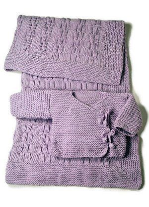 Easy as Pie Blanket + Kimono | Tejidos bebe, Bebé y Tejido