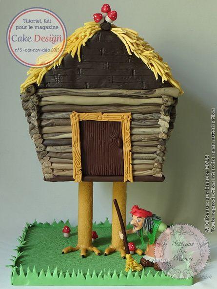 Maison+de+Baba+Yaga+(tutoriel+dans+Cake+Design+de+France)+(from+\u003ca+