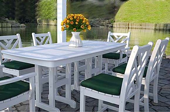 Polywood Chippendale Patio Furniture Collection