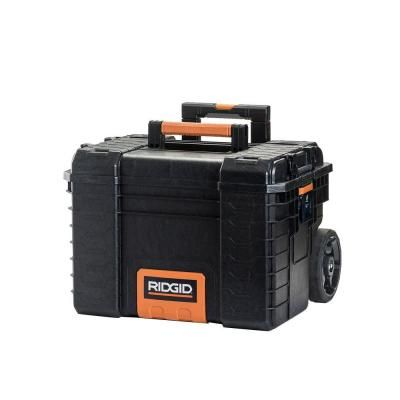 f566031d3f2 RIDGID 22 in. Pro Gear Cart Tool Box in Black