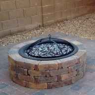 Photo of 08 Easy and Cheap Fire Pit and Backyard Landscaping Ideas #Backyard #Cheap #Easy…