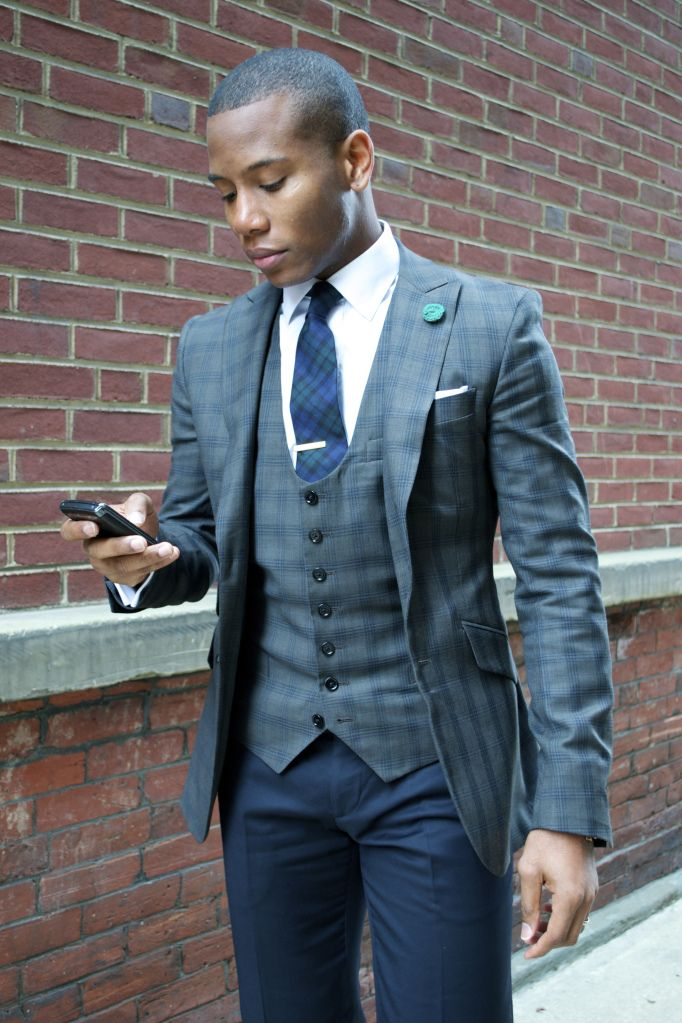 698780796a olive checked jacket and waistcoat Latest Suit Trends, Mens Fashion Blog, Mens  Fashion Suits