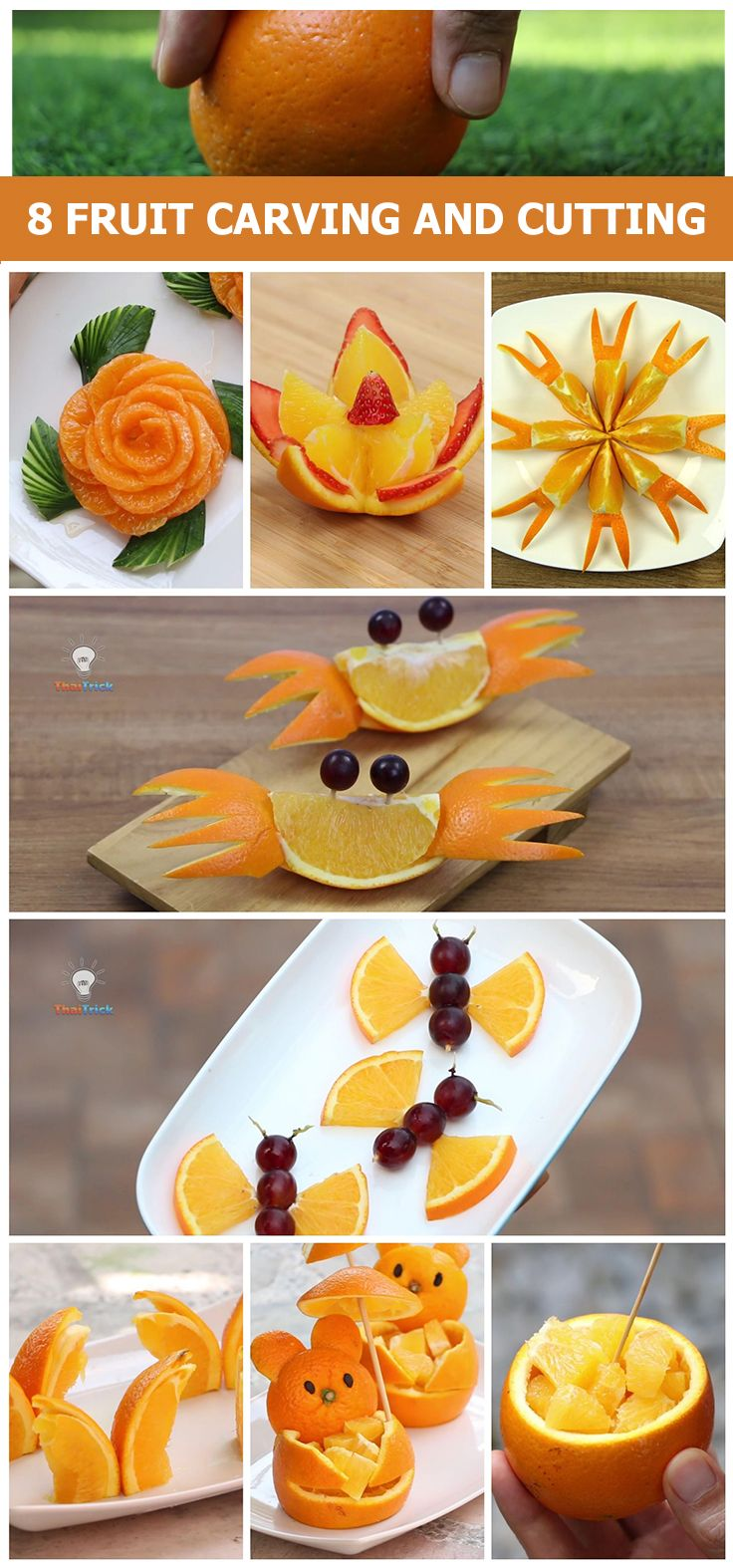 Here are easy fruit carving ideas for beginners. If you're ...