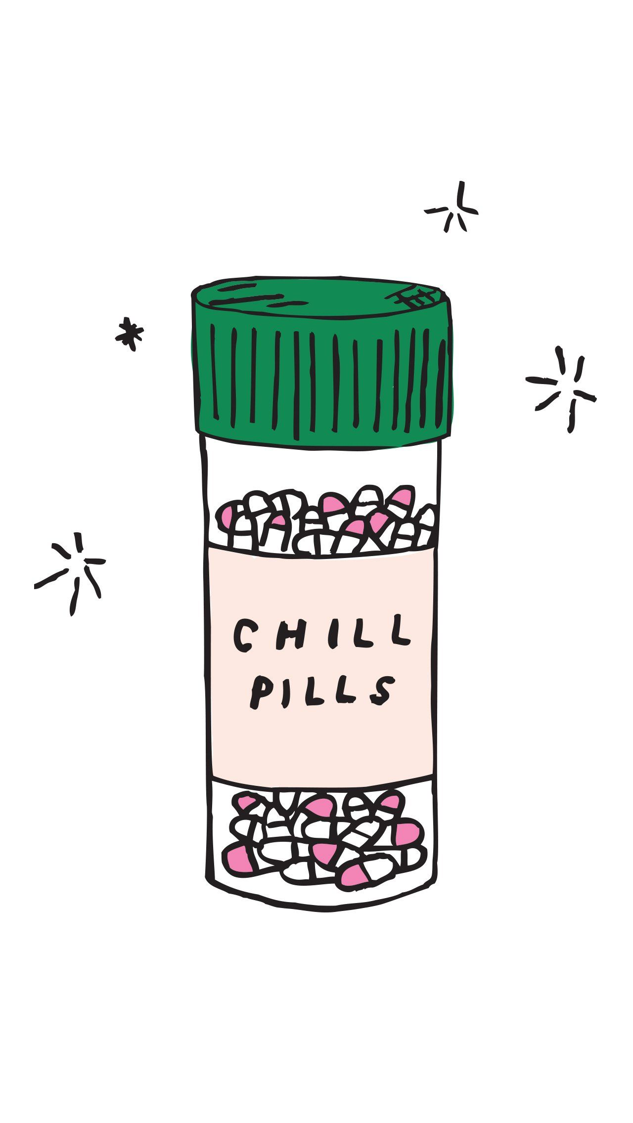 Chill pills pinterest chill pill wallpaper and illustrations 35 free and fun iphone wallpapers to liven up your life voltagebd Image collections