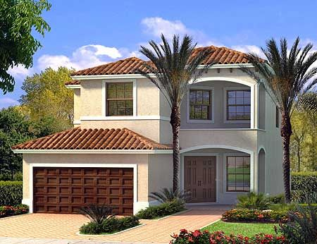 Plan 32133aa Florida Style Affordable Housing And