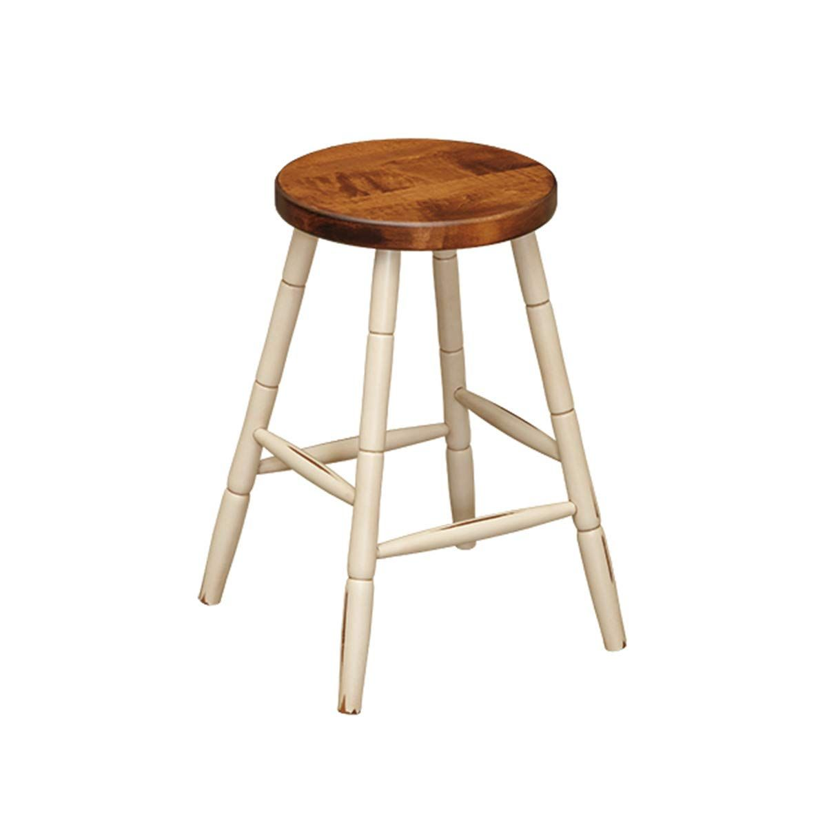 Surprising Lancasters Best Amish Hand Made 24 Inch Wooden Bar Stool Pabps2019 Chair Design Images Pabps2019Com