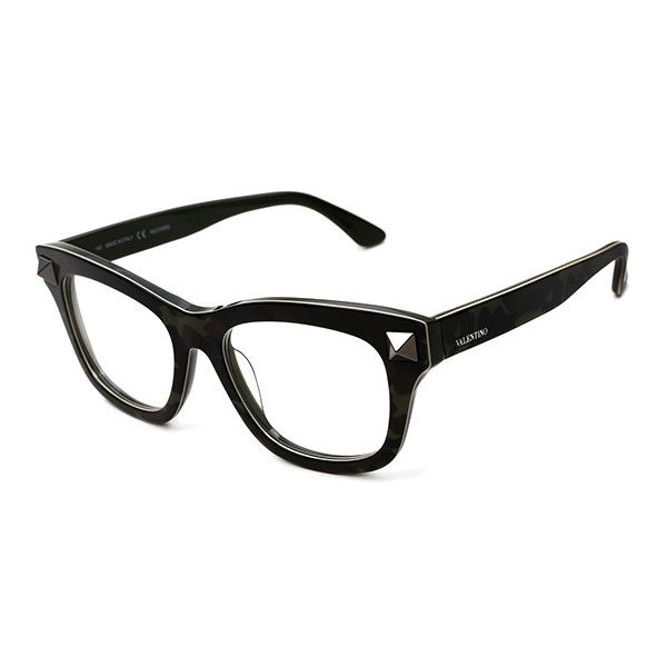 b7e906fbcdf Valentino VAL 2673 316 Eyeglasses ( 195) ❤ liked on Polyvore featuring  accessories
