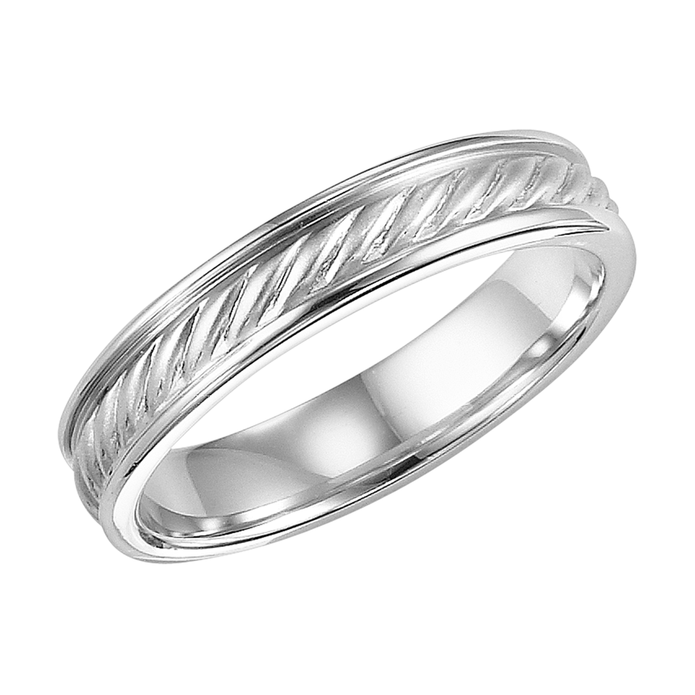 Images Of A Man's Wedding Band  Artcarved Twisted Rope Mens Wedding Band