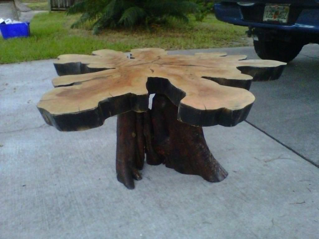 42+ Wood stump coffee table for sale ideas in 2021