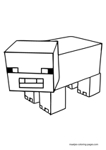 minecraft coloring pages coloring
