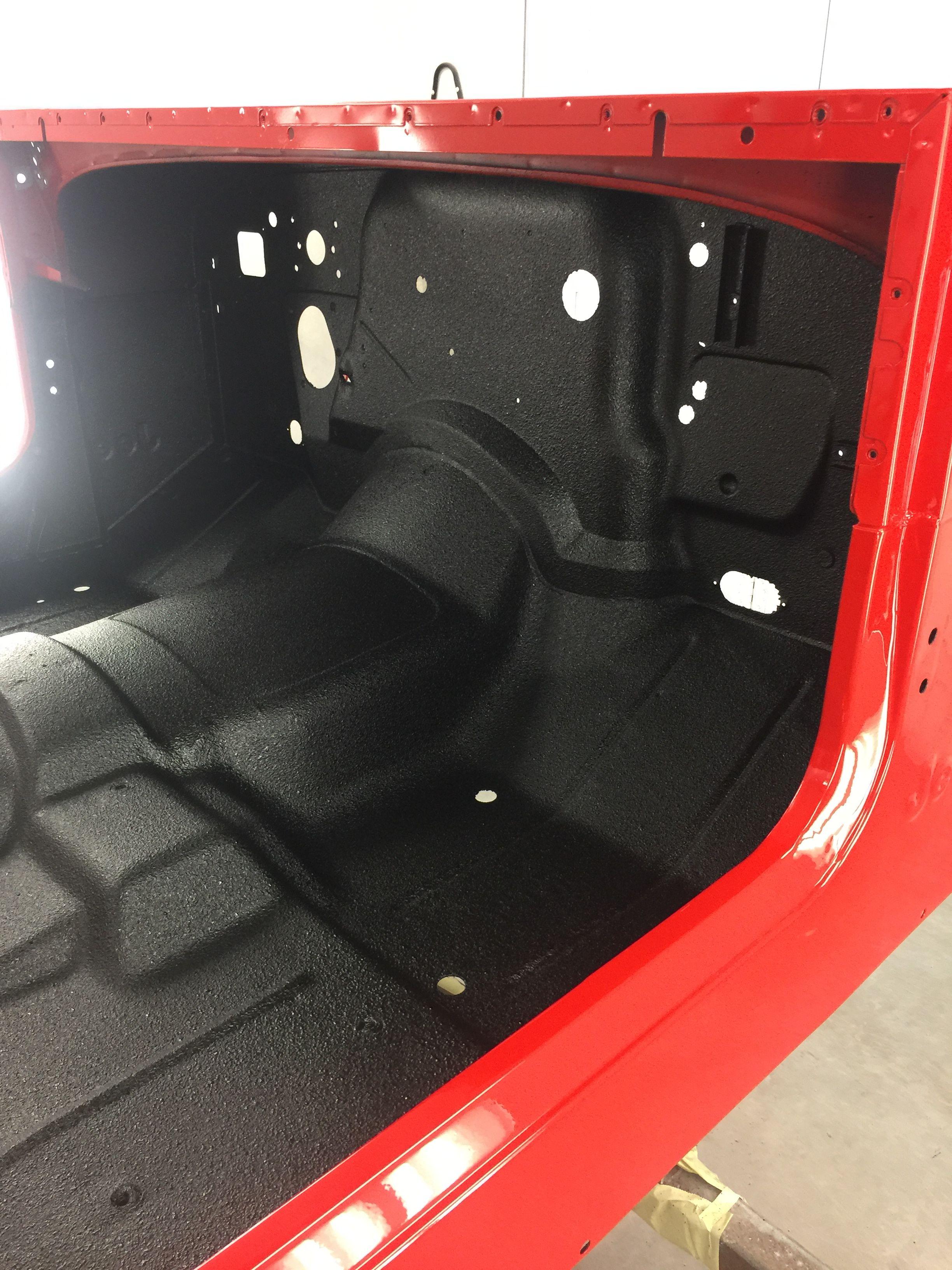 1979 Jeep Cj5 Body In Ferrari Red With Sprayed In Bed Liner Jeep Cj5 Jeep Cj Jeep