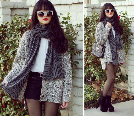 Greyscale (by Analisa Nguyen) http://lookbook.nu/look/4439145-greyscale