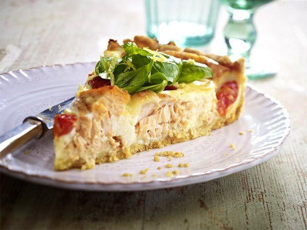 Quiche Herzhafter Kuchen Aus Frankreich Hauptgang Salate