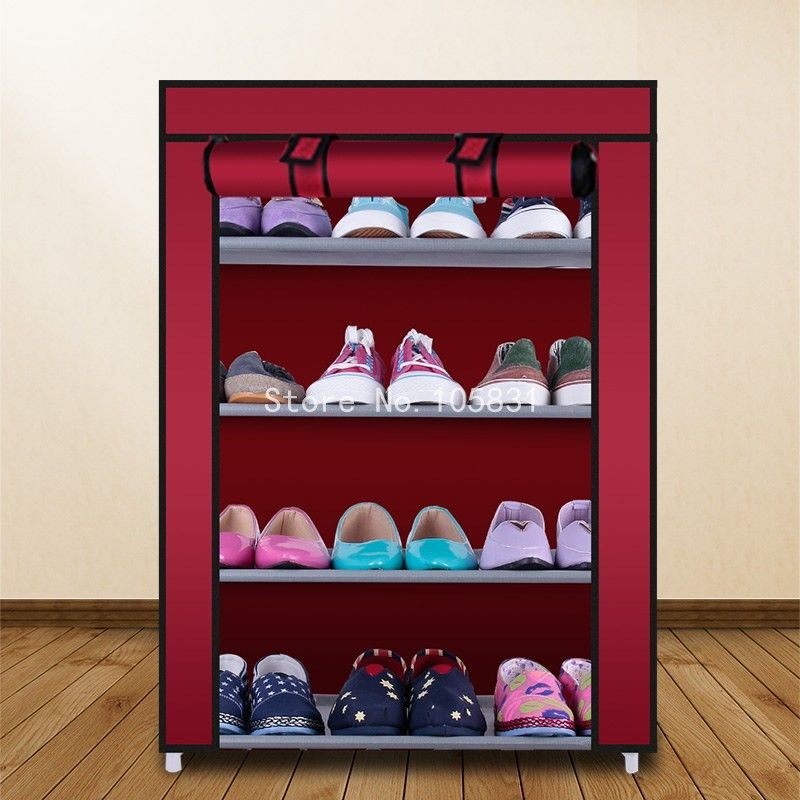 Simple Oxford Multifunctional Shoe Rack Organizer Home Practical