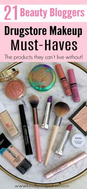 The Best Drugstore Makeup Products- 21 Beauty Blogger Must-Haves -   15 makeup Beauty budget ideas